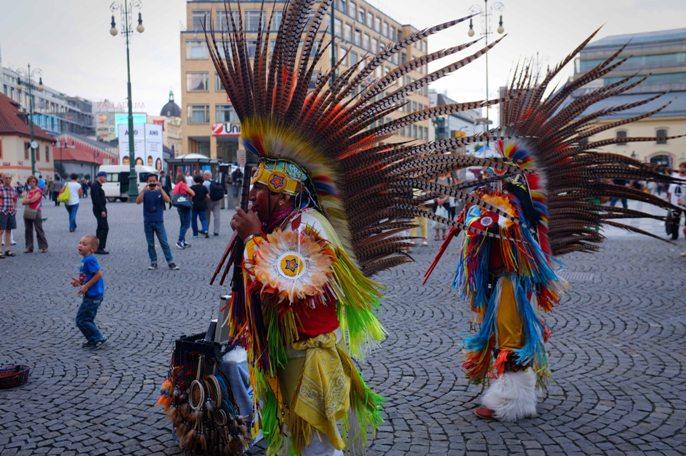 South Americans in Prague