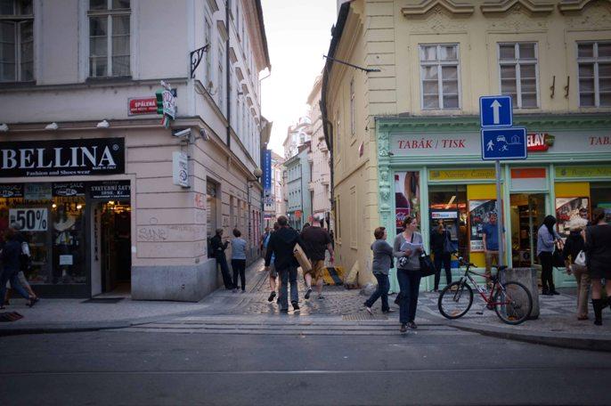 Street in Prague